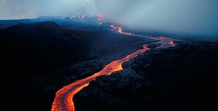 Havaii Yanardağları Mauna Loa Ve Kilauea